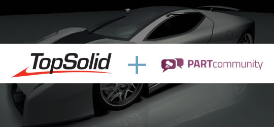 TopSolid + PARTcommunity